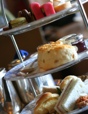 High Tea at The Fairmont Empress