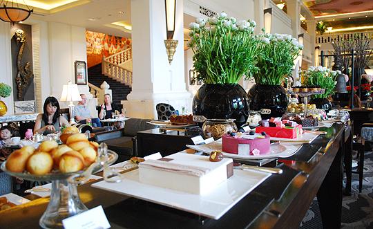 Afternoon Tea at the Four Seasons Bangkok