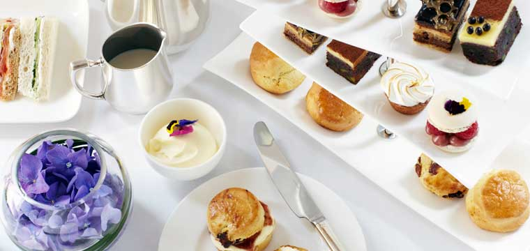 Afternoon Tea at Halkin-Jing