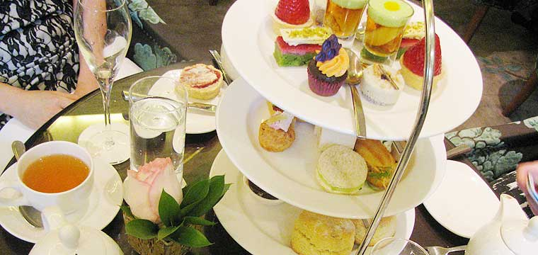 High Tea at the Langham Auckland