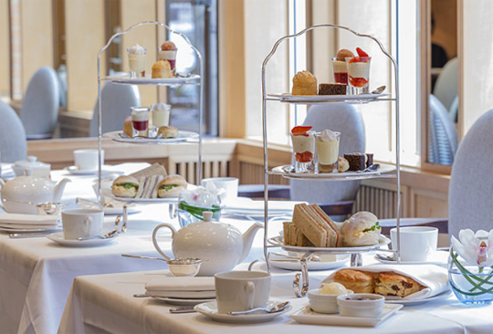 Afternoon Tea at the Capital Hotel, London