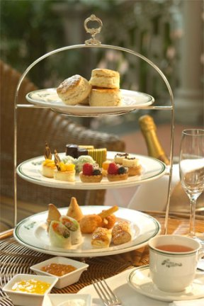 High Tea at The Raffles Hotel Singapore