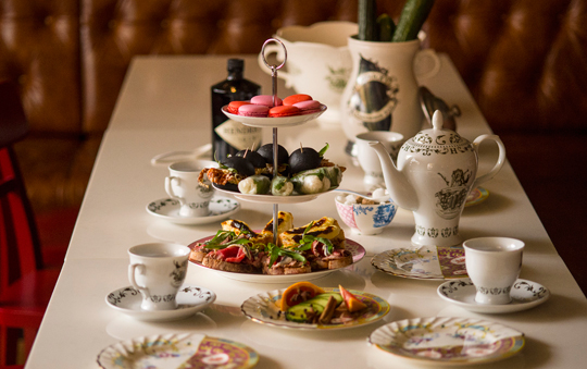 High Tea at Madame Hanoi