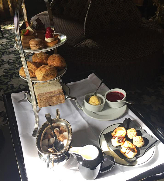 Afternoon Tea at Prestonfield House Edinburgh