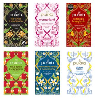 Pukka Organic Revitalise Tea Bags 20 per pack from Ocado