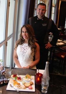 Deanna DiCostanzo and Executive Chef Sylvain Harribey