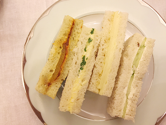 High Tea at The Dorchester Hotel London