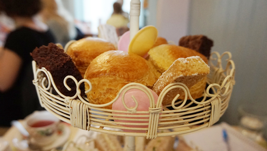 Afternoon tea at Bake-a-boo London