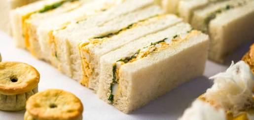 Egg Mayo Sandwich from the Park Hyatt Melbourne