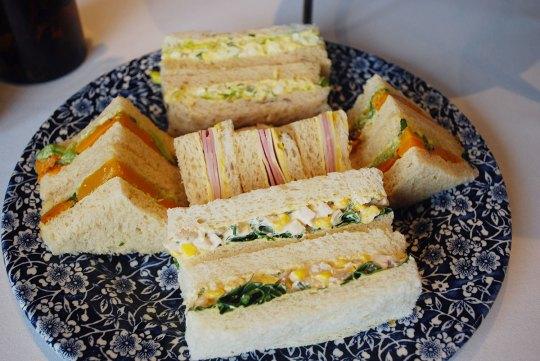 High tea at Lindrum Hotel Melbourne