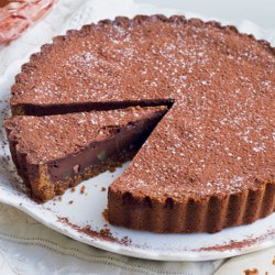 Chocolate Tart by Eric Lanlard
