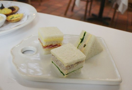 High Tea at The Topiary Cafe