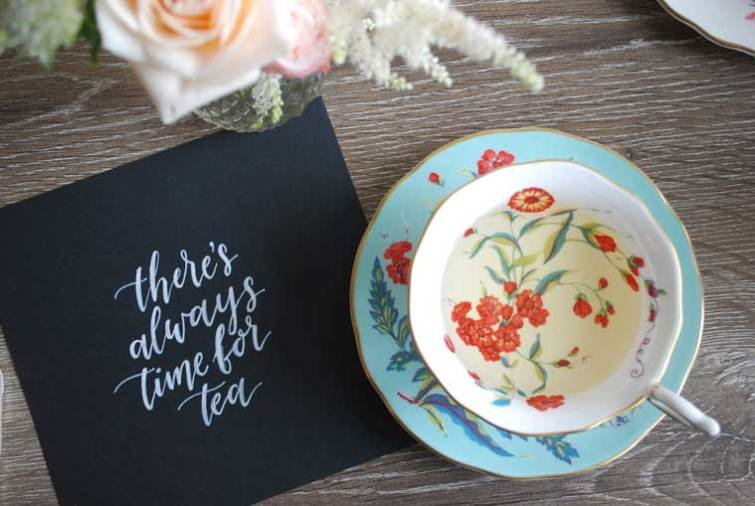 There's always time for tea