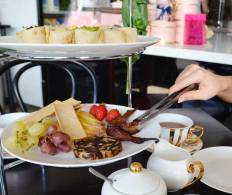 High Tea at Curly Whiskers