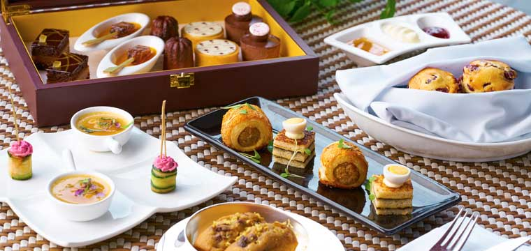 Afternoon Tea at Capella Singapore
