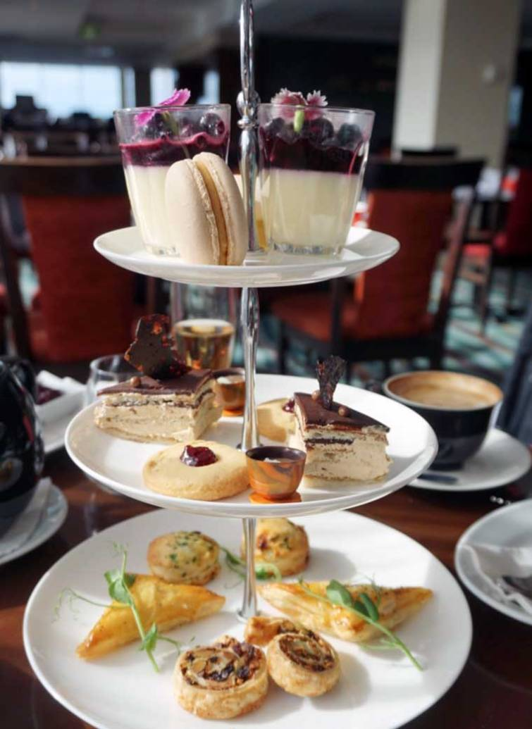 High Tea at One80 Restaurant Wellington