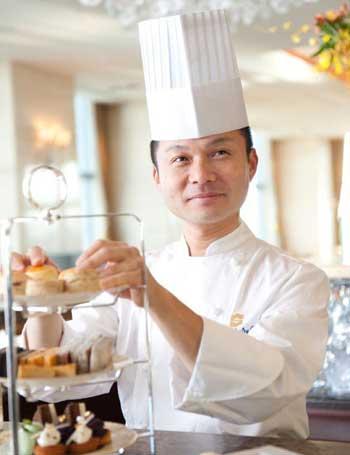Executive Pastry Chef Naoya Okamura