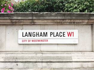 Langham Place W1