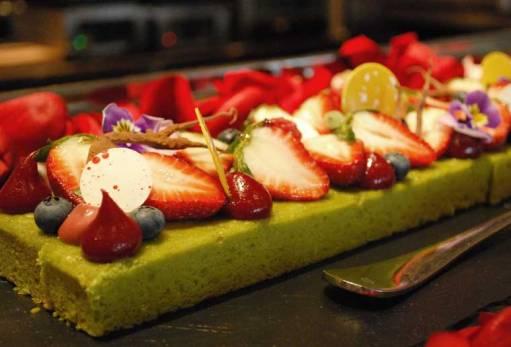 Edible dessert garden