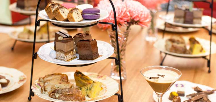 Chocolate High Tea at Gânache Chocolate
