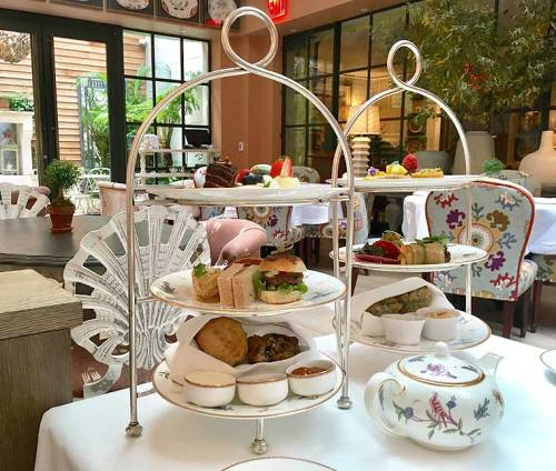 High Tea at The Whitby Hotel New York