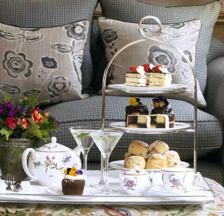 Afternoon Tea at Charlotte Street Hotel London