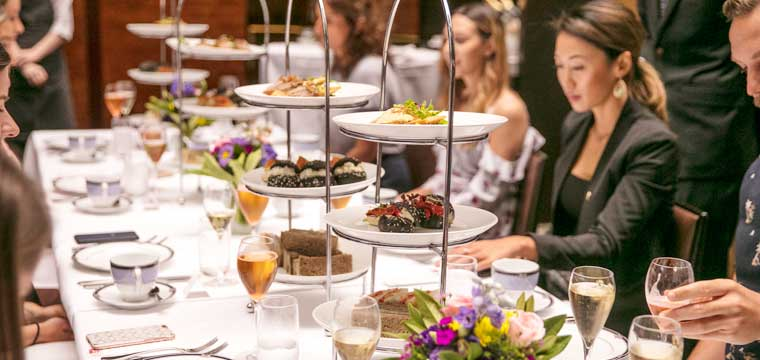 Clarke Sisters' Tea Party at the InterContinental Melbourne The Rialto