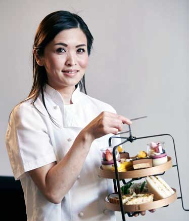 Rika Shiina, Head Pastry Chef at Como the Treasury