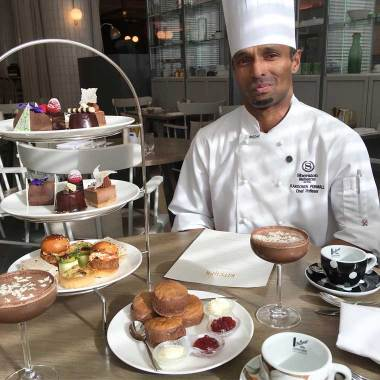 Pastry Chef Karoomen Permall