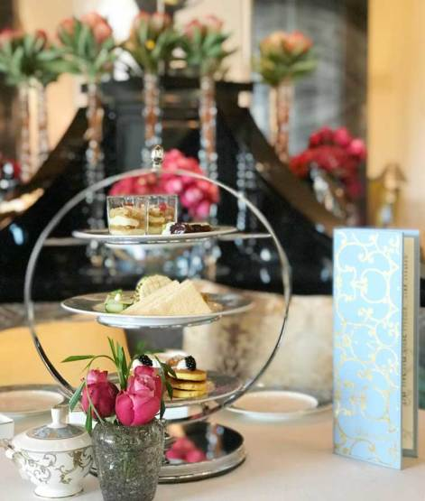 Afternoon Tea at Shai Salon, Four Seasons in Dubai