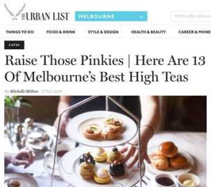 The Urban List Melbourne