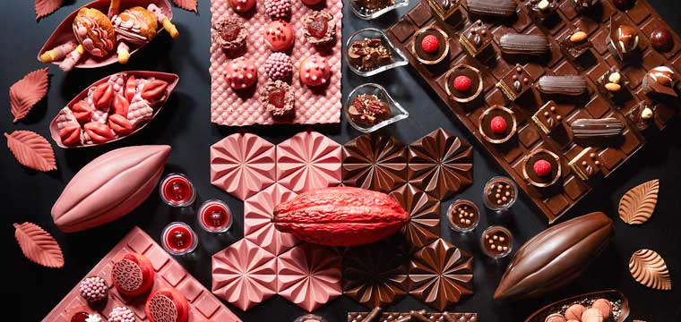 Ruby Chocolate Afternoon Tea