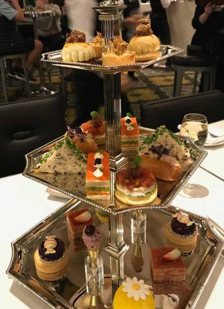 Afternoon Tea The Waiting Room at Crown Melbourne