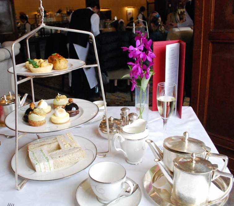 Afternoon Tea at the Hotel Windsor Melbourne