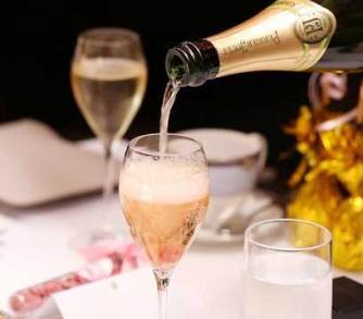 French champagne - supplied image