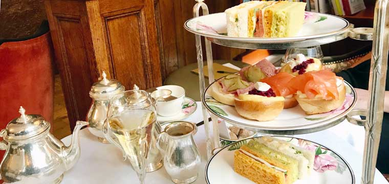 Afternoon tea at Brown's Hotel, London