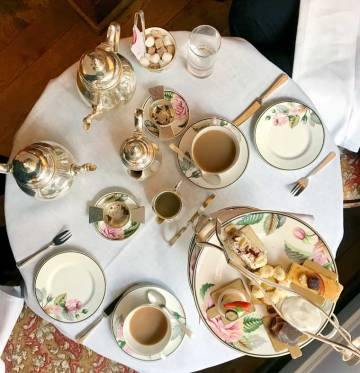 Afternoon Tea at Brown's Hotel London