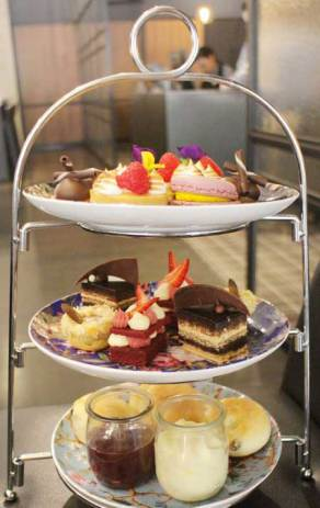High Tea at the Hilton Adelaide