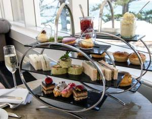 High Tea in the Lord Ashley Roon, Crowne Plaza Terrigal