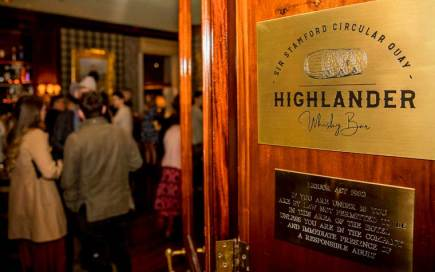 The Highlander Bar at the Sir Stamford Circular Quay Sydney