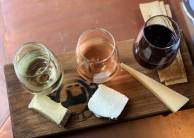 Sparkling Wine and Cheese Flight