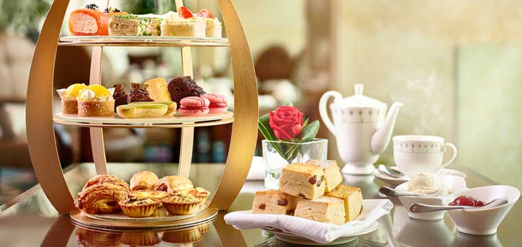 Afternoon Tea at Shangri-La Singapore