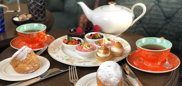 Afternoon Tea at No. 50 Cheyne London