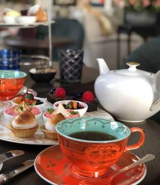 Afternoon Tea at No. 50 Cheyne London