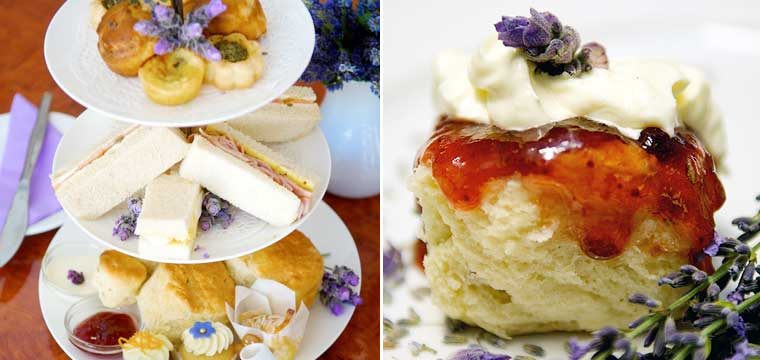 High Tea at Lavender Bistro & Boutique - supplied photos