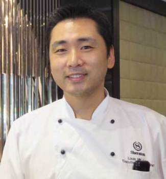 Executive Pastry Chef, Louis Lee
