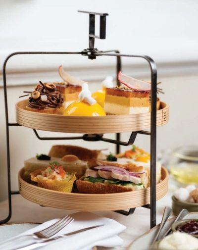 High Tea delivered from Como Treasury Lounge & Bar Perth - supplied photo