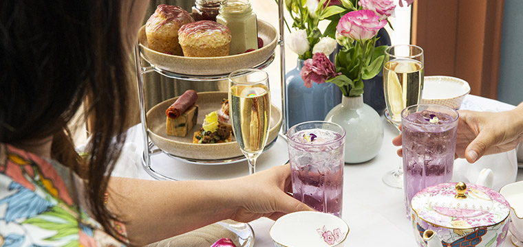 High Tea in Bar Uma at Pan Pacific Perth