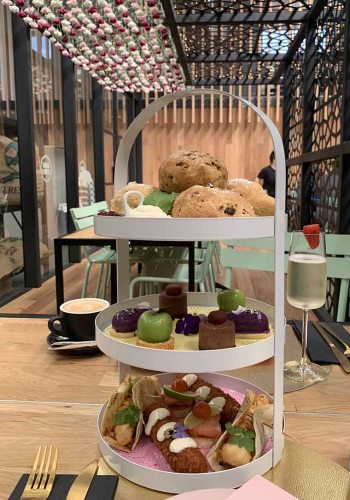 High Tea at Rubia Cafe