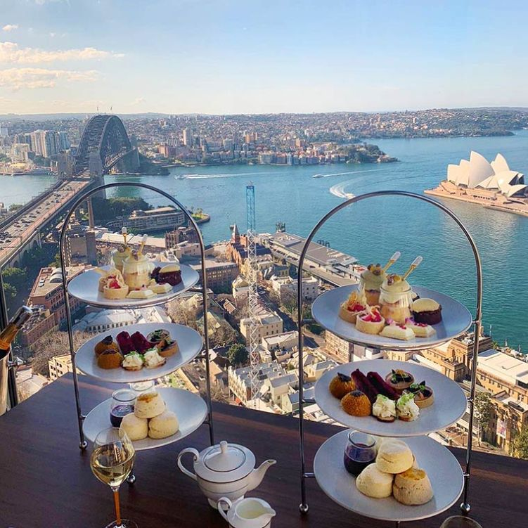 High Tea at Altitude, Shangri-La Hotel Sydney - supplied image